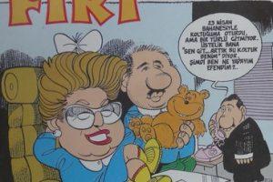 FIRT ÇİZGİ ROMAN DERGİSİ 22 nisan 1991