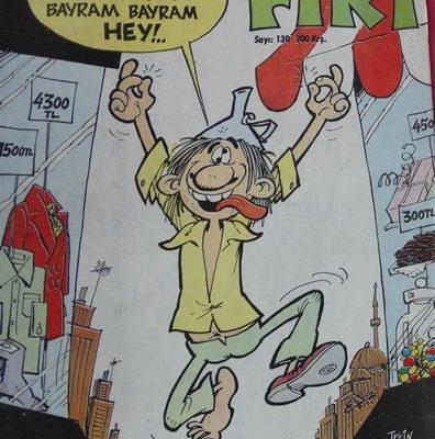 FIRT HAFTALIK MİZAH DERGİSİ 5 EYLÜL 1978