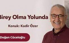 """Kadir Özer ile """"Birey Olma Yolunda"""" üzerine bir sohbet"""