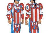 Marvel Kızılderili Kaptan Amerika'yı tanıttı