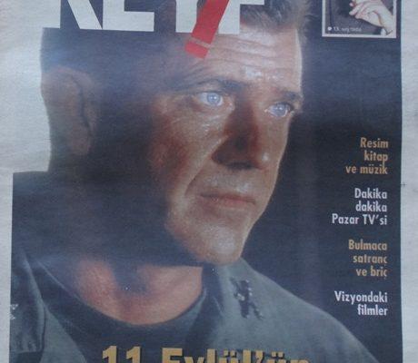 KEYF HÜRRİYET GAZETESİ PAZAR EKİ 12 MAYIS 2002
