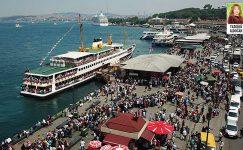 Bayram tatilinde, İstanbul'da evde oturanlar dışarı çıktı