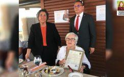 Nermin Abadan Unat'a, 100. yıl doğum günü armağanı 80 yıllık bir belge oldu