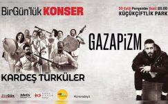 Ertelenen BirGün'lük Konser, 30 Eylül'de KüçükÇiftlik Park'ta