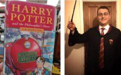 Harry Potter'ın nadir bir kopyası bu defa gerçek Harry Potter tarafından satıldı